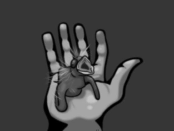 Bird_in_Hand_Alyssa_Blured_GreyScale_signiture